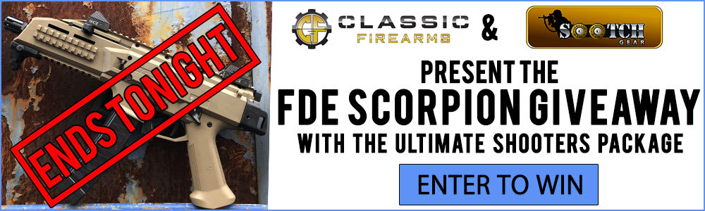 Our Scorpion giveaway ends tonight!