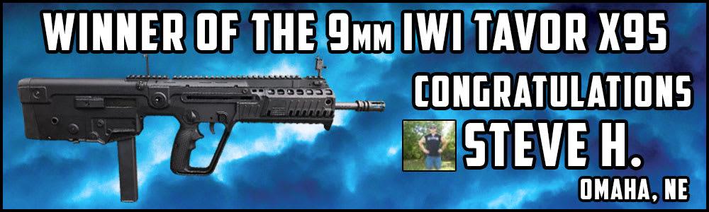 Winner Of The IWI Tavor X95 Rifle