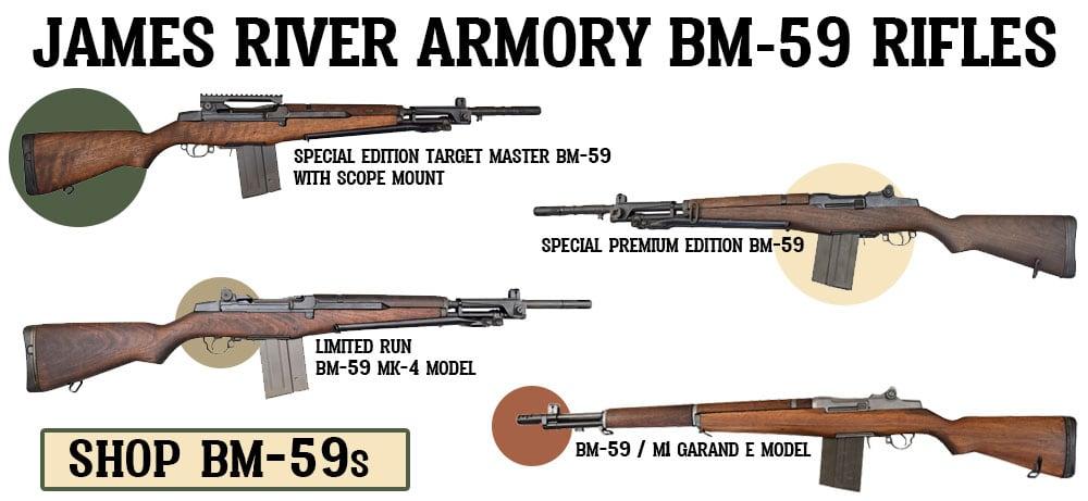 Shop JRA BM-59 rifles