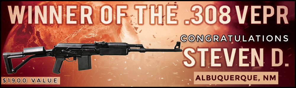 Winner Of The .308 Molot Vepr Rifle