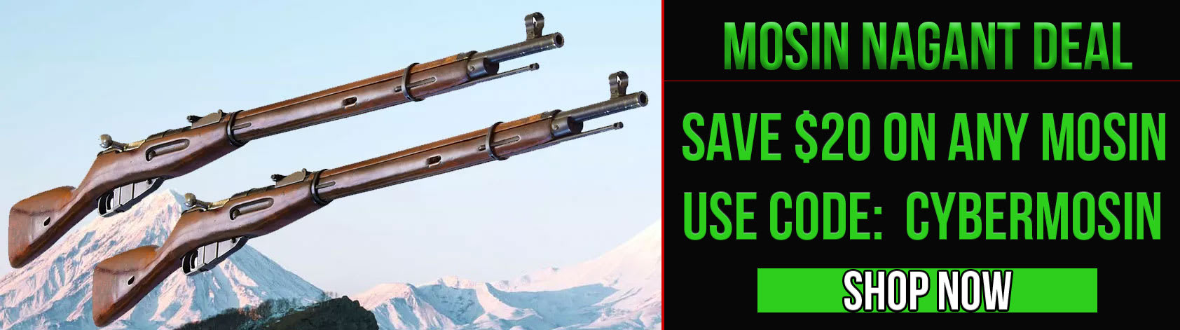 Mosin Nagant rifles now available