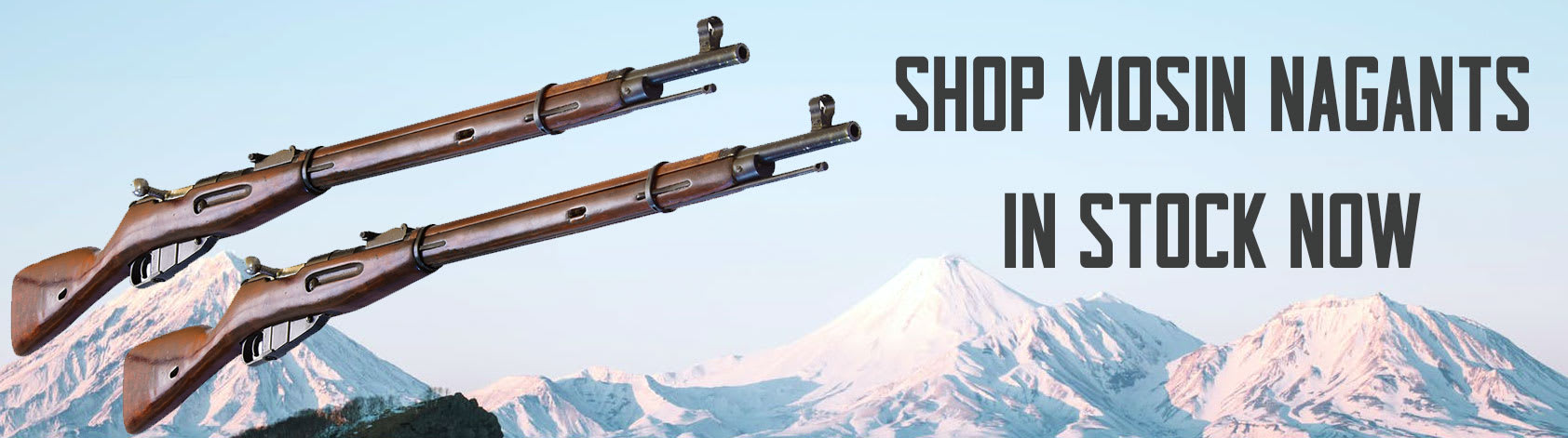 Mosin Nagant rifles now for available