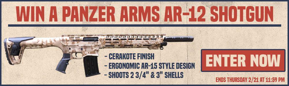 Win A Panzer AR-12 Shotgun