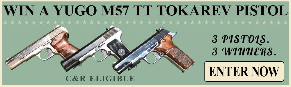 Win One Of Three Yugo M57 Pistols